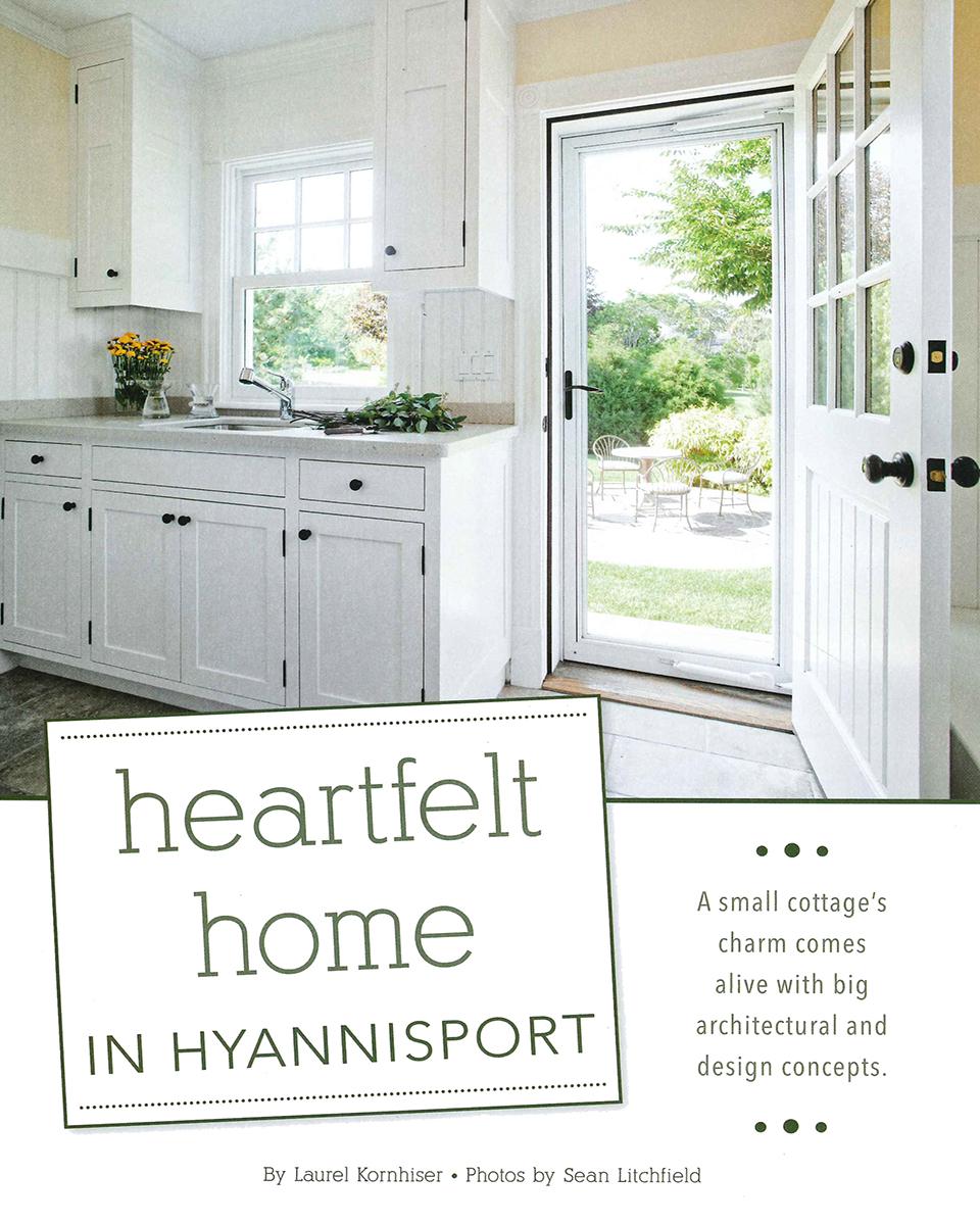Quot Heartfelt Home In Hyannisport Quot Lda Architecture And