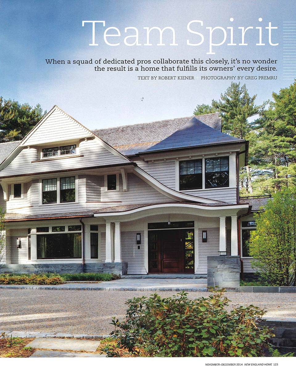 Chestnut woods lda architecture and interiors - In This Issue Of New England Home Our Chestnut Woods Project Was Featured Check Out The Article Below Or See It Online Here