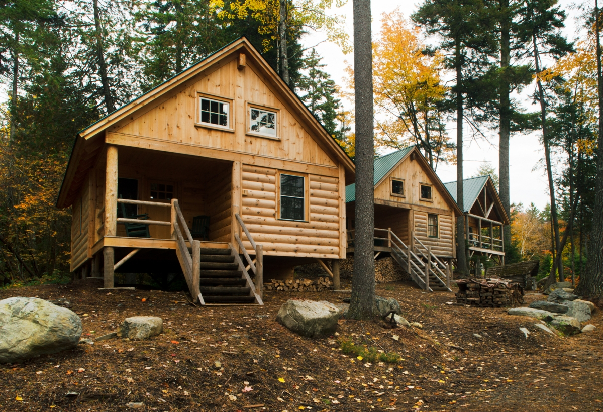 Appalachian mountain club chairback lodge and cabins for Appalachian mountain cabins