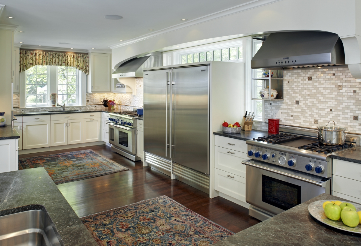 Colonial addition lda architecture and interiors - Kosher kitchen floor plan ...
