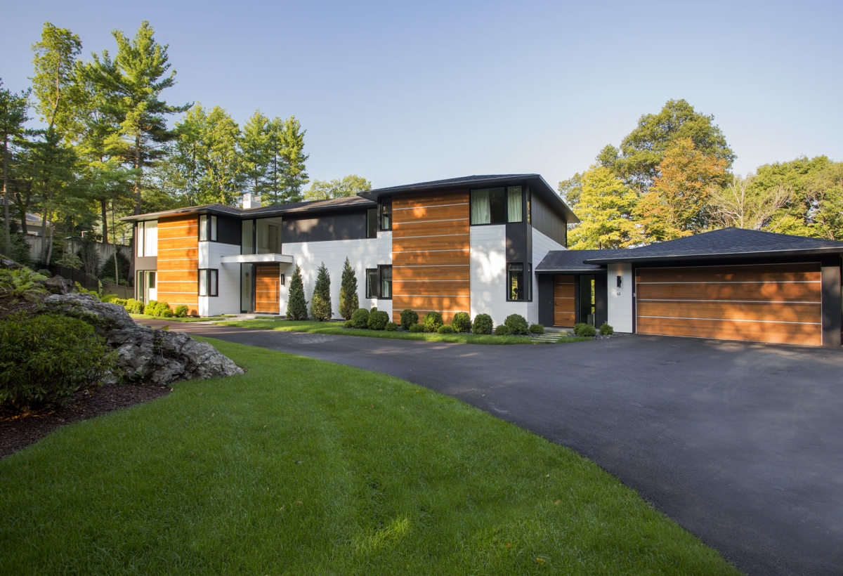 Ledgewood lda architecture and interiors for Modern new england homes