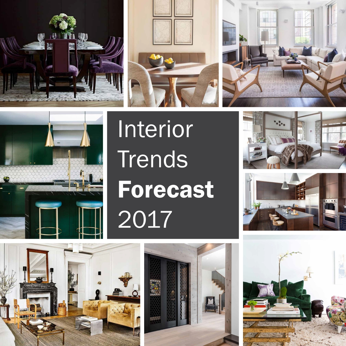 Chestnut woods lda architecture and interiors - Interior Trends Forecast For 2017